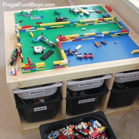 Ikea Hack Kinderzimmer Lego by Ikea Hack Lego Table For The Boys Lego Tisch