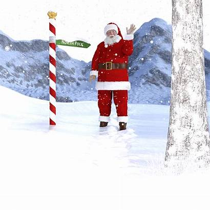 Santa Country Does Which Claus Pole North