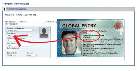 sentri goes phone number known traveler number on global entry card best vacation