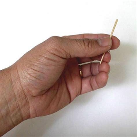 learn  vanishing toothpick magic trick