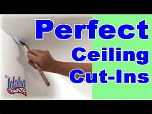 How To Paint A Straight Ceiling Line Painting A Straight