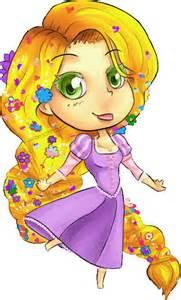 Chibi Disney Princess Rapunzel