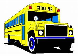 School Bus Side View Flat Front | Clipart Panda - Free ...