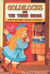 goldilocks    bears  janet hillman