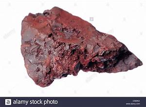 Hematite / Red Ochre (Italy) Important ore of iron Stock ...