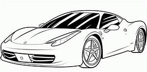 Sports Car Coloring Pages 97050 Gianfredanet