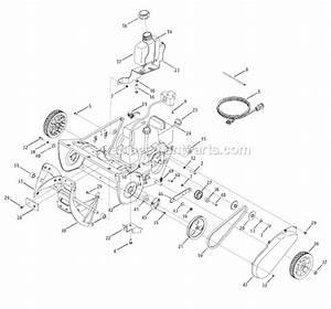 Troy-bilt 31as2b5-711 Parts List And Diagram