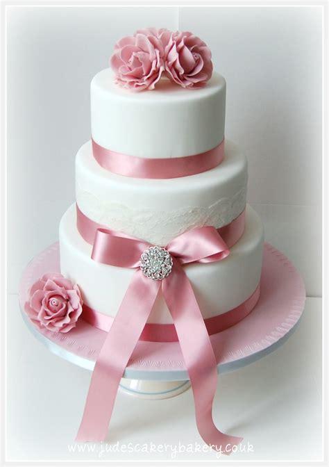 dusty pink rose wedding cakes  tier wedding cake