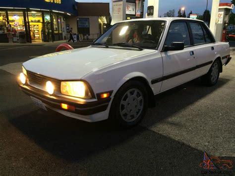 peugeot 4 door 1987 peugeot 505 stx sedan 4 door 2 8l