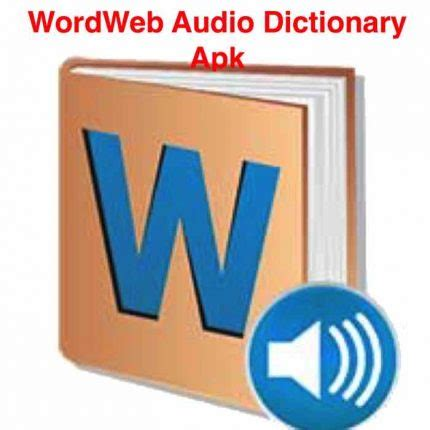 wordweb audio dictionary  apk mod data