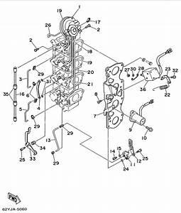 1996 Yamaha Carburetor Link Parts For 50 Hp F50tlru