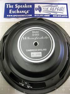 Speaker Repair  Wharfedale Speaker Repair Parts