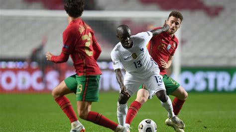 Rare Kante goal gives France win over Portugal | The ...