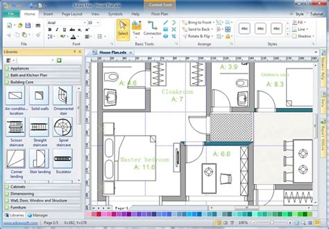 28 Home Drawing Software Architecture Floor Plan Used With