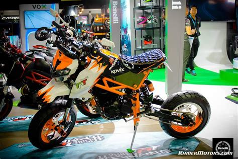 Benelli Tnt 135 Image by Custom Benelli Tnt135 Show At The 33rd Thai Motor Expo