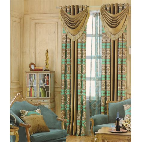 cheap curtains  living room exqusiteno valance