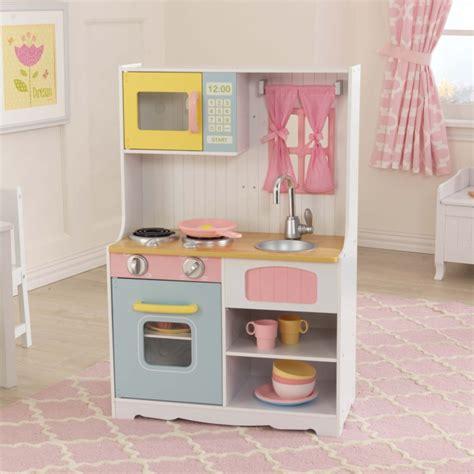 cuisine en bois jouet jouets des bois cuisine en bois pastel country 53354