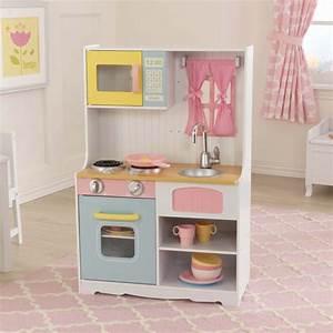 Cuisine Enfant En Bois : jouets des bois cuisine en bois pastel country 53354 kidkraft jouet en bois ~ Teatrodelosmanantiales.com Idées de Décoration