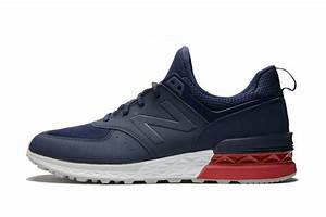 New Balance 574 Sport - Navy/Red MS574SCO | Buy Online