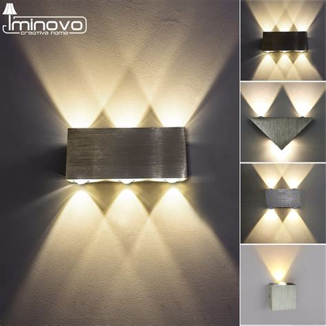 Indoor Sconces - modern led wall l 3w 6w wall sconces indoor stair light