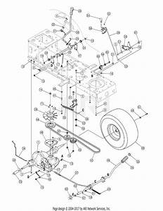 Mtd 13ao791g718  2005  Parts Diagram For Drive