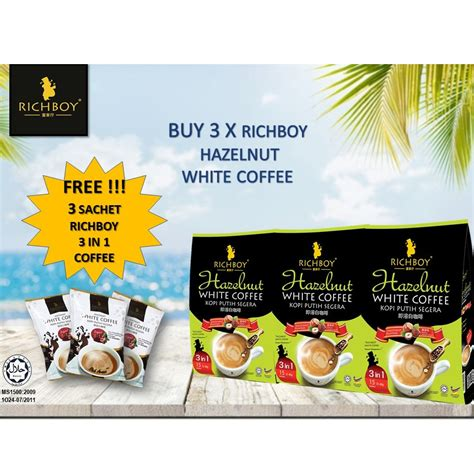 Find hazelnut coffee beans from a vast selection of coffee beans. Buy 3 Free 3 Richboy Hazelnut Instant White Coffee (3 ...