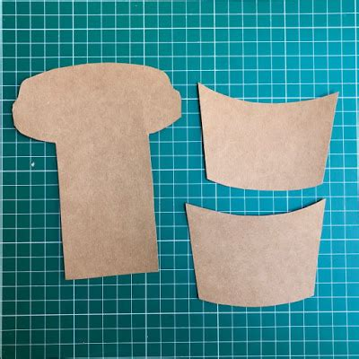 paper cove coffee cup gift card surprise stamping