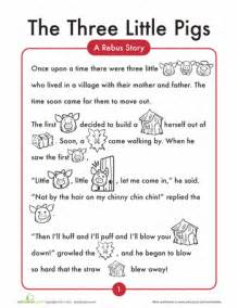 Three Little Pigs Worksheets for Kindergarten