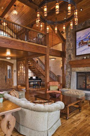 fireplaces cabin and living rooms on