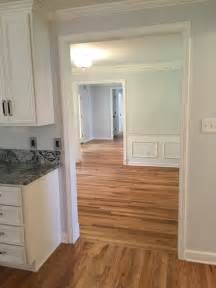 solid hardwood floors refinished 40 yr wood in dining and hardwood in kitchen wood