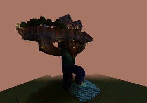 bearded steve holding  house creation minecraft pe maps