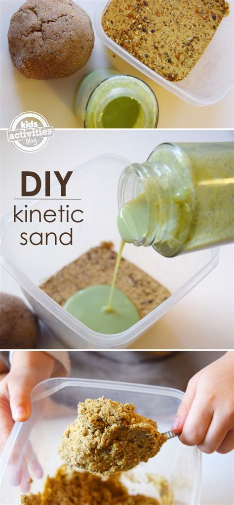diy kinetic sand kinetic sand how to make it at home regarding nannies