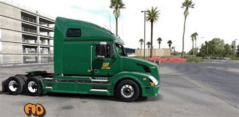 volvo vnl  abf freight system  skin american