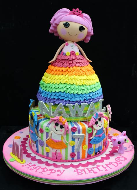 birthday cakes lalaloopsy cakes decoration ideas little birthday cakes