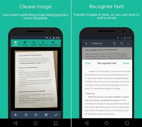 best android scanner 9 best document scanner apps for android mobigyaan