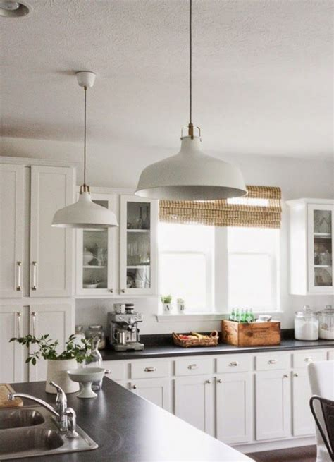 white pendant lights kitchen 37 ways to incorporate ikea ranarp l into home d 233 cor 1446