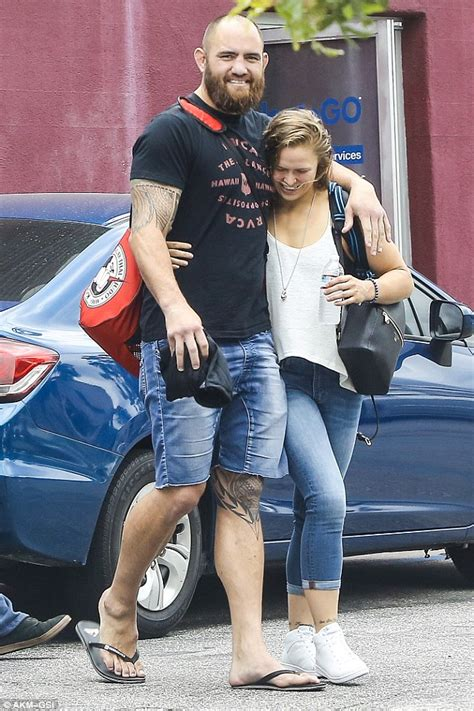 Ronda Rousey Boyfriend Suzuki by Ronda Rousey Beams While Enjoying Stroll With