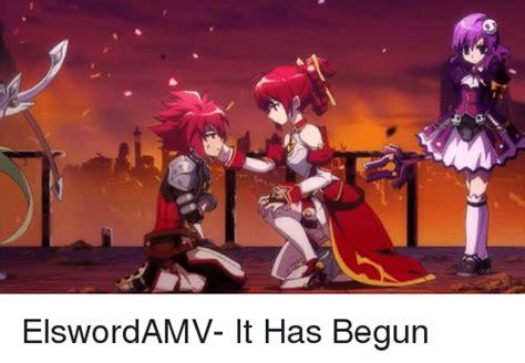 It Has Begun Meme - 25 best memes about elsword elsword memes