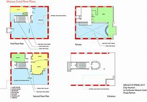 Maison Cook Floor Plan Diagrams
