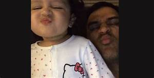 Dhoni's Daughter Calls Him By Name And The Internet Loves