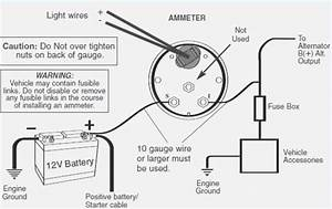 Amp Meter Wiring Diagram For Ford