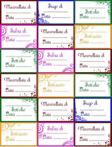 vasi per confetture etichette per confetture marmellate e conserve ricette