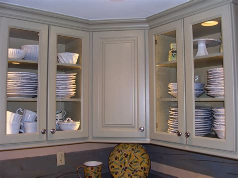 kitchen corner wall cabinet with glass doors refacing kitchen cabinet doors for new kitchen look