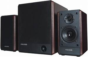 Microlab, Speakers, 2, 1, Fc330, Wooden, 56w, Rms