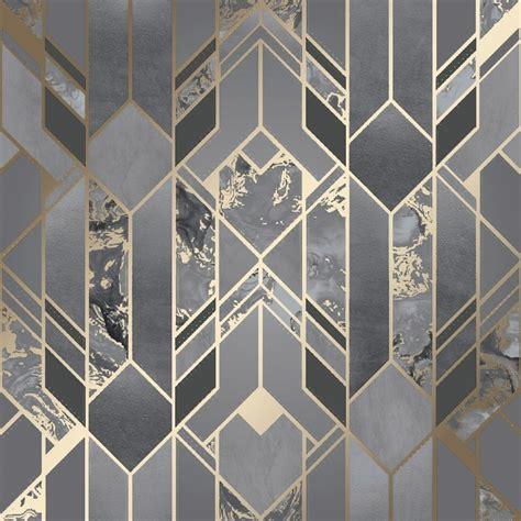 I Love Wallpaper Liquid Marble Geometric Wallpaper
