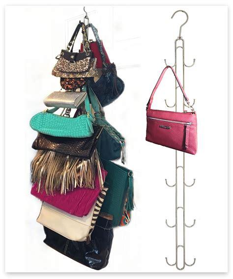 Handbag Hanger For Closet by Purse Stax Purse Hanger Purse And Handbag Vertical