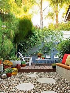 Idée Jardin Pas Cher : ajouter une galerie photo idee deco jardin exterieur pas ~ Zukunftsfamilie.com Idées de Décoration