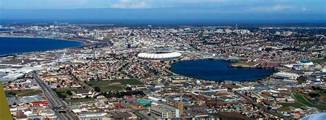 Google Map Of The City Of Port Elizabeth, South Africa