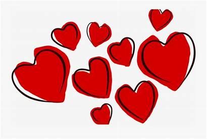 Hearts Clipart Valentines Cartoon Heart Afeitarse Valentine