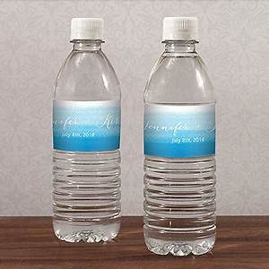 aqueous water bottle label confetticouk With custom water bottle labels vistaprint